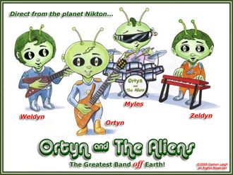 Click here to visit Ortyn & The Aliens!